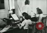Image of German girls train for communications work in Athens Athens Greece, 1942, second 31 stock footage video 65675021788