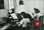 Image of German girls train for communications work in Athens Athens Greece, 1942, second 32 stock footage video 65675021788