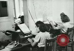 Image of German girls train for communications work in Athens Athens Greece, 1942, second 34 stock footage video 65675021788