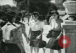 Image of German girls train for communications work in Athens Athens Greece, 1942, second 38 stock footage video 65675021788