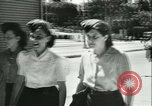 Image of German girls train for communications work in Athens Athens Greece, 1942, second 42 stock footage video 65675021788