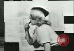 Image of German girls train for communications work in Athens Athens Greece, 1942, second 44 stock footage video 65675021788