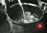 Image of Fish skin plant in Germany Germany, 1942, second 27 stock footage video 65675021789
