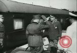 Image of Robert Ley meets with Ion Antonescu Bucharest Romania, 1942, second 4 stock footage video 65675021791