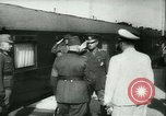 Image of Robert Ley meets with Ion Antonescu Bucharest Romania, 1942, second 5 stock footage video 65675021791