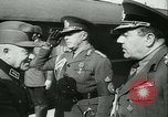 Image of Robert Ley meets with Ion Antonescu Bucharest Romania, 1942, second 6 stock footage video 65675021791