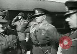 Image of Robert Ley meets with Ion Antonescu Bucharest Romania, 1942, second 8 stock footage video 65675021791