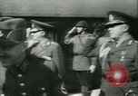 Image of Robert Ley meets with Ion Antonescu Bucharest Romania, 1942, second 9 stock footage video 65675021791