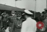 Image of Robert Ley meets with Ion Antonescu Bucharest Romania, 1942, second 13 stock footage video 65675021791