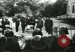 Image of Robert Ley meets with Ion Antonescu Bucharest Romania, 1942, second 42 stock footage video 65675021791