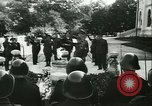 Image of Robert Ley meets with Ion Antonescu Bucharest Romania, 1942, second 43 stock footage video 65675021791