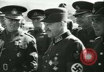 Image of Robert Ley meets with Ion Antonescu Bucharest Romania, 1942, second 54 stock footage video 65675021791