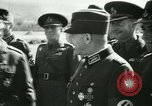 Image of Robert Ley meets with Ion Antonescu Bucharest Romania, 1942, second 55 stock footage video 65675021791