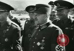Image of Robert Ley meets with Ion Antonescu Bucharest Romania, 1942, second 56 stock footage video 65675021791