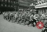 Image of Allied prisoners Paris France, 1944, second 56 stock footage video 65675021797