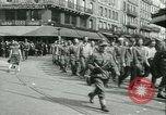 Image of Allied prisoners force marched in Paris Paris France, 1944, second 14 stock footage video 65675021800