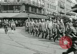 Image of Allied prisoners force marched in Paris Paris France, 1944, second 15 stock footage video 65675021800