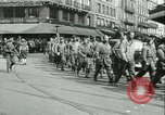 Image of Allied prisoners force marched in Paris Paris France, 1944, second 16 stock footage video 65675021800