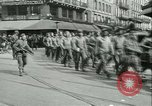 Image of Allied prisoners force marched in Paris Paris France, 1944, second 18 stock footage video 65675021800