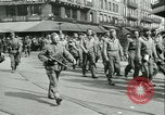 Image of Allied prisoners force marched in Paris Paris France, 1944, second 20 stock footage video 65675021800
