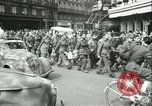 Image of Allied prisoners force marched in Paris Paris France, 1944, second 51 stock footage video 65675021800