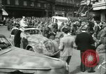 Image of Allied prisoners force marched in Paris Paris France, 1944, second 59 stock footage video 65675021800