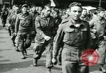 Image of Allied prisoners force marched in Paris Paris France, 1944, second 62 stock footage video 65675021800