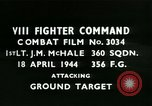 Image of VIII Fighter Command Germany, 1944, second 1 stock footage video 65675021820