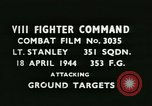Image of VIII Fighter Command Germany, 1944, second 2 stock footage video 65675021821