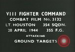 Image of VIII Fighter Command Germany, 1944, second 3 stock footage video 65675021823