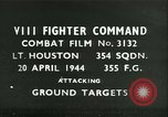 Image of VIII Fighter Command Germany, 1944, second 4 stock footage video 65675021823