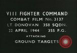 Image of VIII Fighter Command Germany, 1944, second 3 stock footage video 65675021824