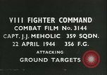 Image of VIII Fighter Command Germany, 1944, second 4 stock footage video 65675021827