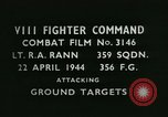 Image of VIII Fighter Command Germany, 1944, second 2 stock footage video 65675021828