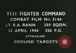 Image of VIII Fighter Command Germany, 1944, second 3 stock footage video 65675021828