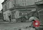 Image of French 2nd Armored Division Sees France, 1944, second 14 stock footage video 65675021854
