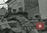 Image of French 2nd Armored Division Sees France, 1944, second 60 stock footage video 65675021855