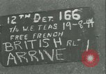 Image of French 2nd Armored Division Alencon France, 1944, second 6 stock footage video 65675021856