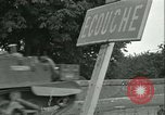 Image of French 2nd Armored Division Alencon France, 1944, second 49 stock footage video 65675021856