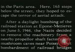 Image of Allied bombing Paris France, 1945, second 21 stock footage video 65675021880
