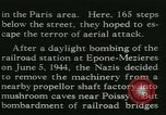 Image of Allied bombing Paris France, 1945, second 28 stock footage video 65675021880