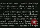 Image of Allied bombing Paris France, 1945, second 39 stock footage video 65675021880