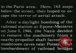 Image of Allied bombing Paris France, 1945, second 40 stock footage video 65675021880