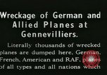 Image of Aircraft graveyard Paris France, 1945, second 8 stock footage video 65675021883