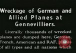Image of Aircraft graveyard Paris France, 1945, second 9 stock footage video 65675021883