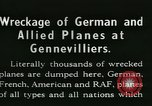 Image of Aircraft graveyard Paris France, 1945, second 14 stock footage video 65675021883