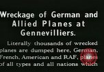 Image of Aircraft graveyard Paris France, 1945, second 15 stock footage video 65675021883
