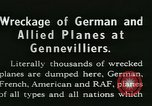 Image of Aircraft graveyard Paris France, 1945, second 17 stock footage video 65675021883