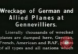 Image of Aircraft graveyard Paris France, 1945, second 19 stock footage video 65675021883