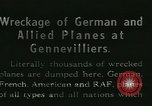 Image of Aircraft graveyard Paris France, 1945, second 20 stock footage video 65675021883